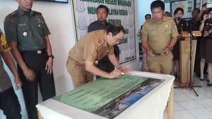 Royke O Roring ,  Wilayah Bebas dari Korupsi , Wilayah Birokrasi Bersih, Kejaksaan Negeri Minahasa,