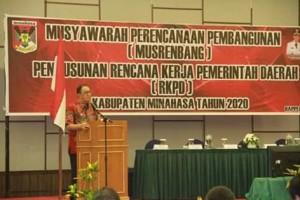 Musrenbang Minahasa 2019, Royke Octavian Roring