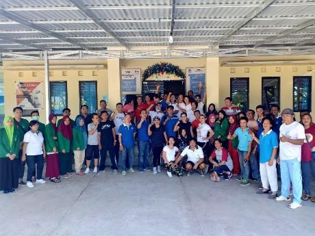 Disambut Positif Warga, GMB di Kecamatan Bunaken Berlangsung Meriah