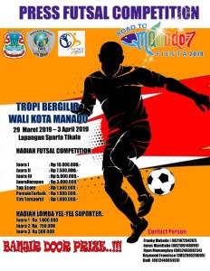Dispora Dukung Penuh IWO Press Futsal Competition 'Road to Manado Fiesta' 2019