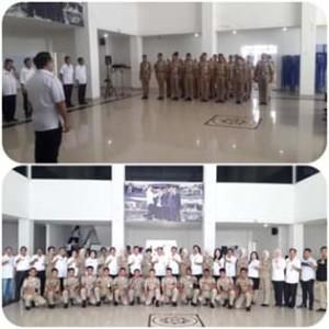 Sekda Ngongoloy Terima 24 Praja IPDN PL di Pemkab Mitra