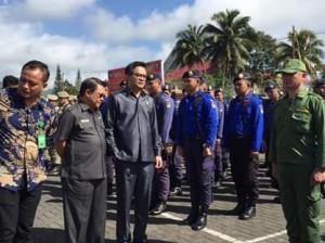 Dr. Denny Mangala M.Si,  Apel Gelar Pasukan Persiapan PAM, pemilu tahun 2019