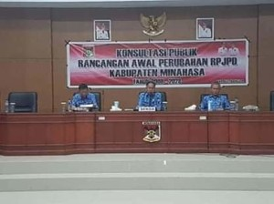 Jefry R Korengkeng, RKPD Minahasa Tahun 2020