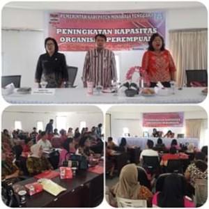 Wakili Bupati, Sekda Ngongoloy Buka Kegiatan Peningkatan Kapasitas Organisasi Perempuan di Mitra