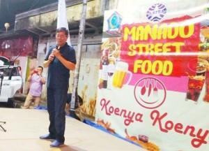 Wali Kota GSVL: Manado Street Food Harus Aman, Bersih, Enak, Khas dan Berkulitas