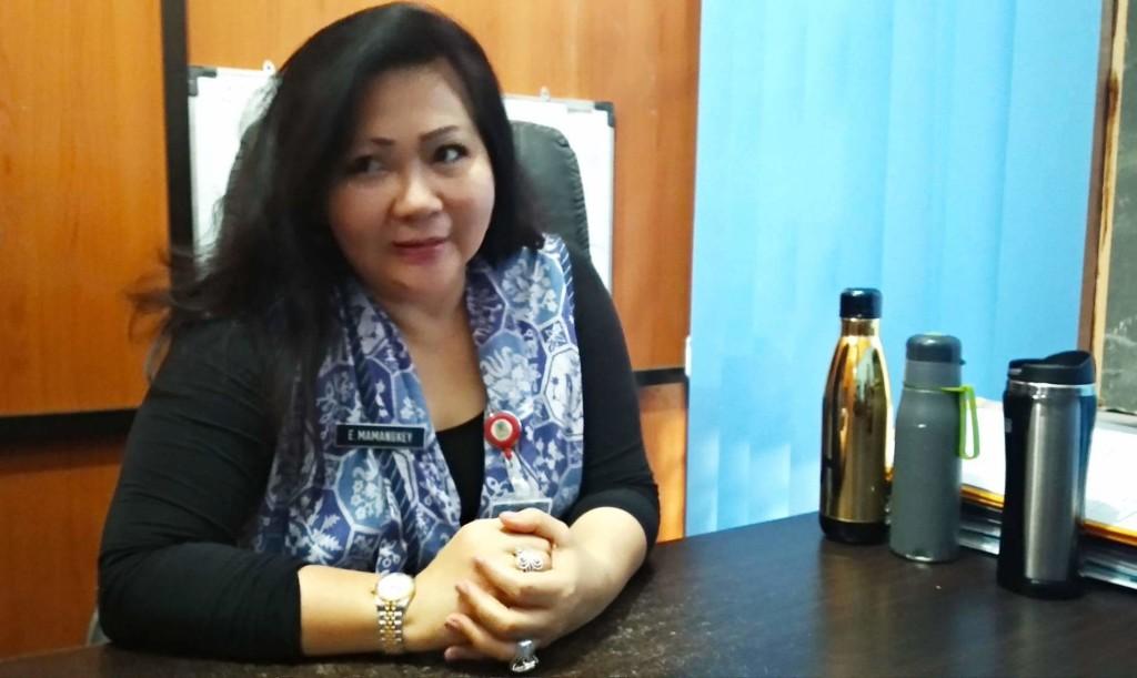 Kepala DP3A Kota Manado Esther Mamangkey
