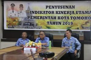 Sekretaris Kota, Asisten Perekonomian dan Pmebangunan serta Kabag Organisasi dan tatalaksana