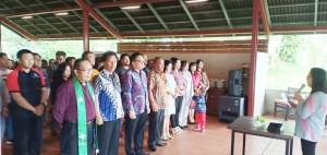 Pelantikan Panitia Hari Jadi ke-340 Kamasi di Alamanda Bukit Doa Kakaskasen