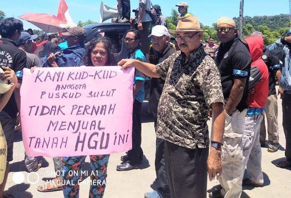 PT Cons North Sulawesi Cement , PUSKUD Sulut, lahan PUSKUD Sulut inobonto, PT Sulenco