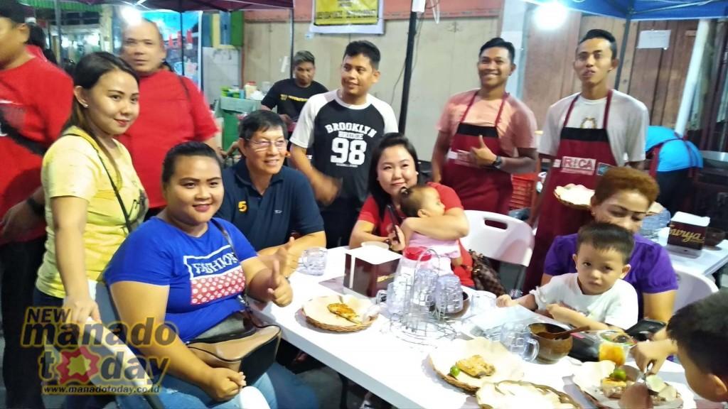 Manado Street Food Resmi Dibuka, Hadirkan Makanan Khas Hingga Ekstrim