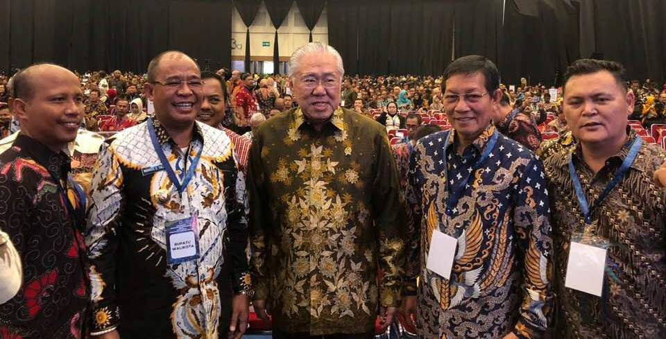Wali Kota Manado Hadiri Rapat Kerja Kementerian Perdagangan Tahun 2019