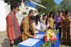 Teken Mou dengan PT SMI, Gedung RSUD Kota Manado Ditargetkan Selesai Akhir 2019
