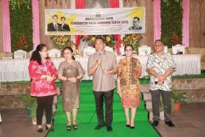 Wali Kota, Ketua DPRD, Wakil Wali Kota, dan Sekretaris Kota di Musrenbang RKPD