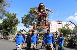Meriah Festival Ogoh-Ogoh, Tunjukkan Toleransi dan Keberagaman di Kota Manado
