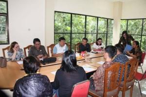 Komisi II DPRD Tomohon RDP dengan Diskominfo