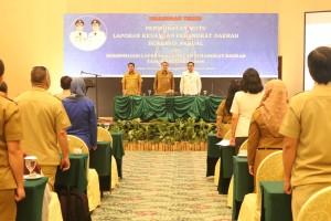 Wakili Wali Kota, Sekda Lakat Buka Bimtek Pelaporan Keuangan Berbasis Akrual