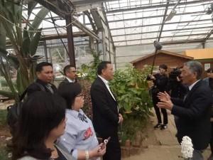 Wali Kota Tomohon mendapat penjelasan dari pihak pemerintah Minamiboso