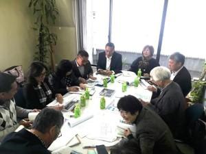 Rapat tentang kerja sama Michi no Eki Pemkot Tomohon dan pemerintah Minamiboso