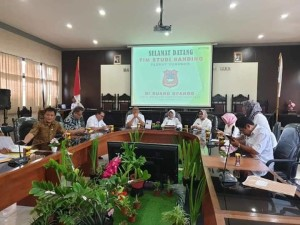 Pemkot Tomohon Studi Tiru Penyelesaian MPTP-TGR di Kabupaten Gorontalo