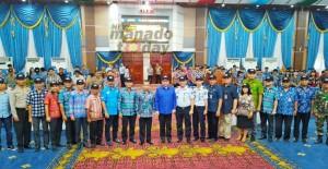 Wawali Mor Kukuhkan Tim Pengawas Orang Asing Tingkat Kecamatan se-Kota Manado