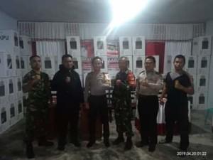 Polres Minahasa, Pleno Pemilu di Kecamatan,