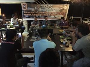 Ngobrol Pemilu Bersama Jurnalis, KPU Mitra Siap Laksanakan Pemungutan Suara
