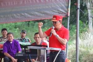 Bupati Minahasa Hadiri Pencanangan Penanaman 50 ribu Bibit Rica