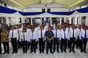 FKDM 8 Kecamatan Kota Bitung Resmi Dilantik