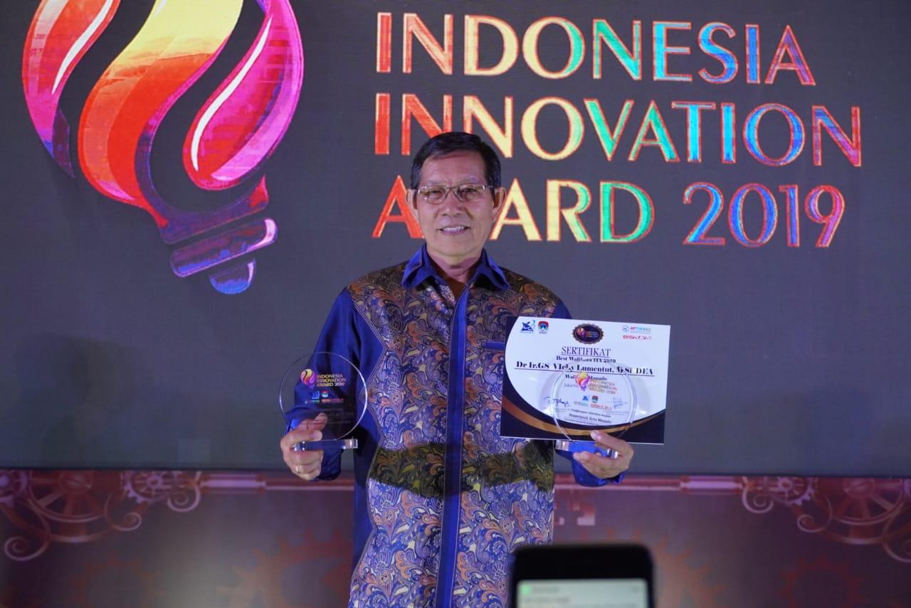 G.S Vicky Lumentut Raih Penghargaan Best Walikota 6