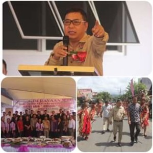 James Sumendap, GMIM Imanuel Tombatu,