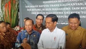 KEK Bitung, Presiden Joko Widodo