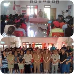 Franky Wowor , program keluarga harapan, PKH Kecamatan Touluaan,