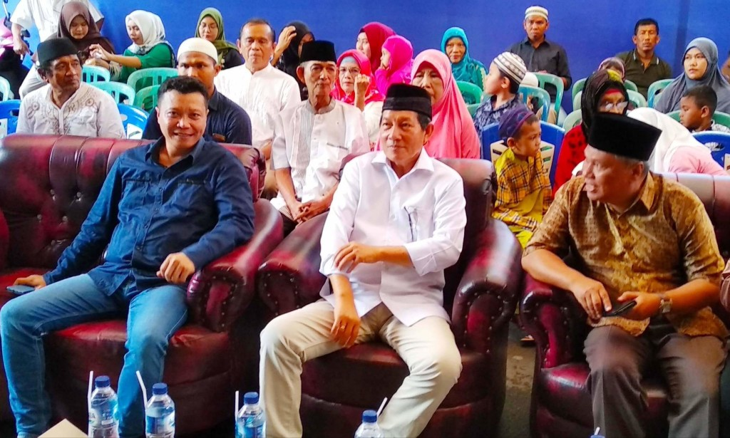Wali Kota Vicky Lumentut Hadiri Peringatan Isra Mi'Raj di Masjid Nurul Yaqin