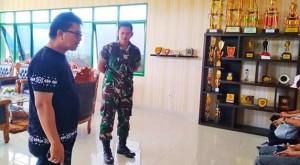 Kecamatan Bunaken Perkuat Sinergitas Dengan Yonif Raider 712/WT