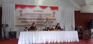 Sosialisasi Pengawasan Tahapan Pemilihan Umum oleh Bawaslu Tomohon