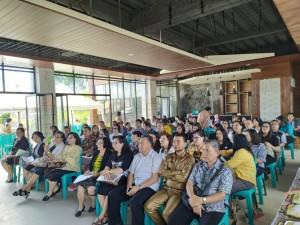 Presidium BKSAUA dan tokoh agama yang menghadiri kegiatan