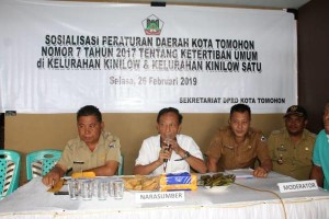 Erens Kereh AMKL Sosialisasikan Perda Tibum