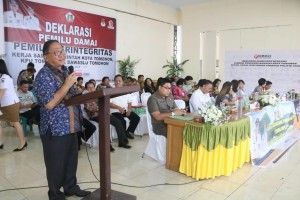 Wali Kota Tomohon Hadiri Seminar GNPK