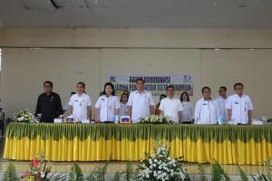 Wali Kota, jajaran bersama Anggota DPD-RI/MPR-RI Ir Stefanus BAN Liow MAP