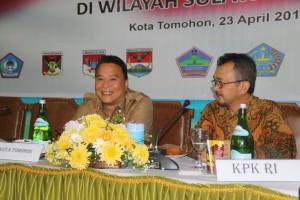 Wali Kota dan Ketua Tim Pencegahan KPK-RI
