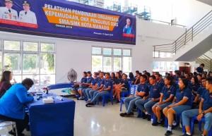 Jadi Wadah Pembentuk Generasi Cerdas, Dispora Manado Gelar Pelatihan Pembinaan Organisasi Kepemudaan