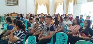 Pemuda Lintas Agama yang menghadiri sosialisasi dan dialog