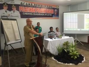 Tingkatkan Prestasi Atlet, Dispora Tempa Pelatih Olahraga Atletik di Kota Manado