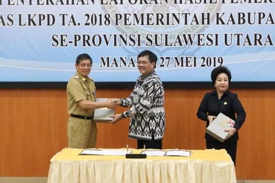 Masuk Tahun Ketiga Pimpin Kota Manado, GSVL-Mor Kembali Raih WTP