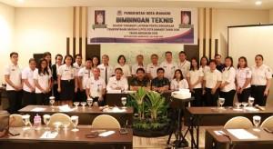 Bagian Pemerintahan dan Humas Kota Manado Gelar Bimtek Penyusunan LPPD