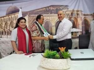 Bupati ROR Bersama FKUB Minahasa Kunjungi Palestina