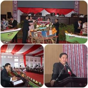 HUT ke-12 Kabupaten Mitra,Drs Steven Kandow, james sumendap
