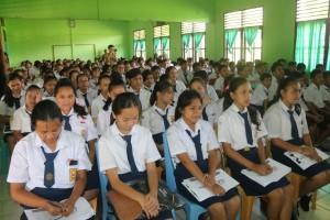 Siswa-siswi peserta Penyuluhan Sitahu