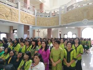 Ibu-Ibu Tuhan di Hapsa W/KI Wilayah Tomohon Satu