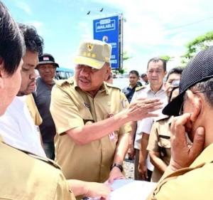 Gubernur Olly Tinjau Pembangunan Jalan Ring Road III